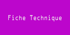 FicheTechnique